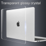 Glossy Hard Shell Case for Apple MacBook Pro Retina(16-inch) 2019 Clear